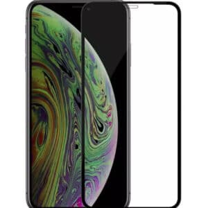 Panzerglas iPhone XR als Displayschutz in Schwarz